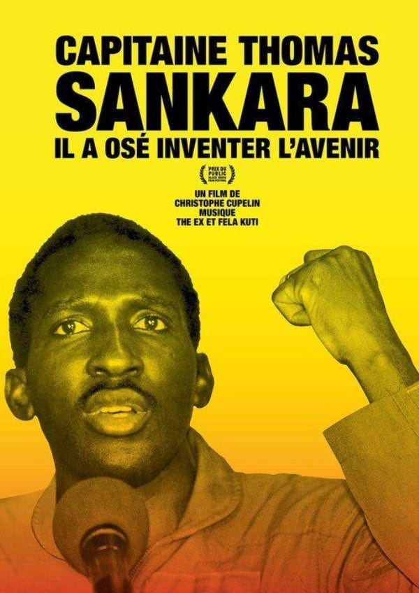 'Capitaine Thomas Sankara' movie poster