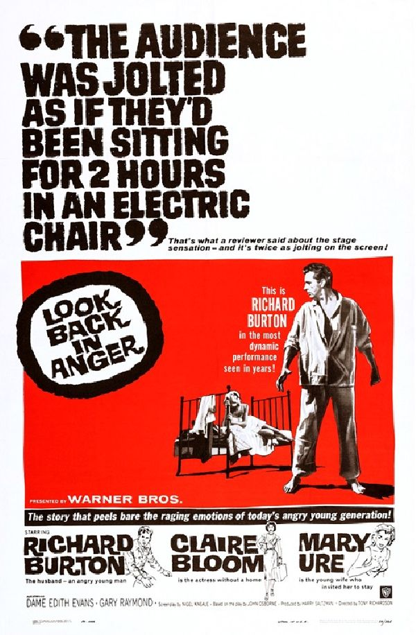 'Look Back in Anger' movie poster