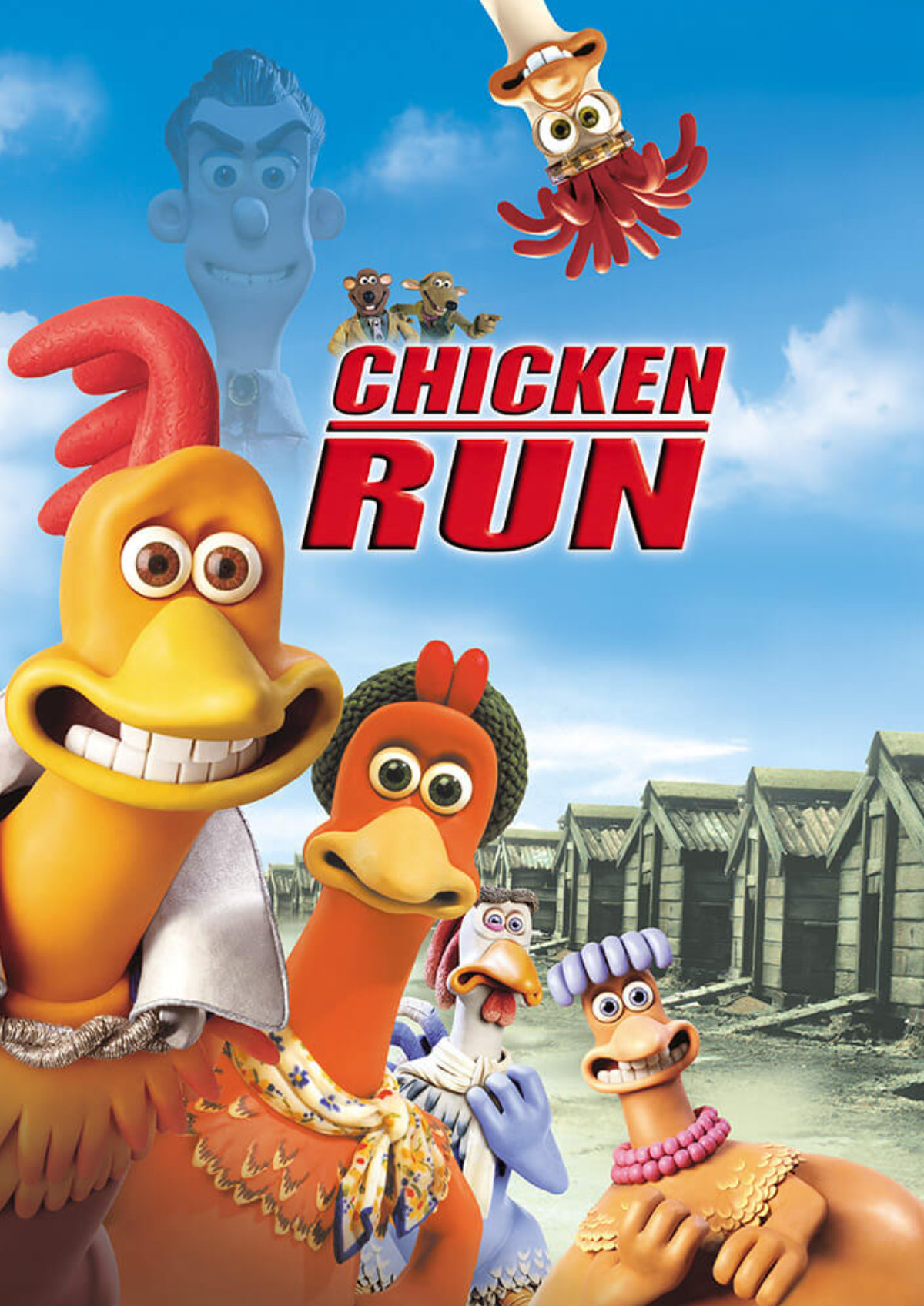 'Chicken Run' movie poster