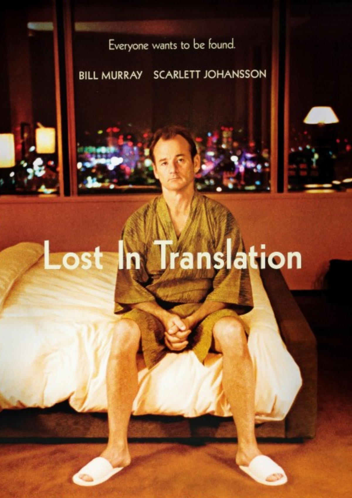 'Lost In Translation' movie poster