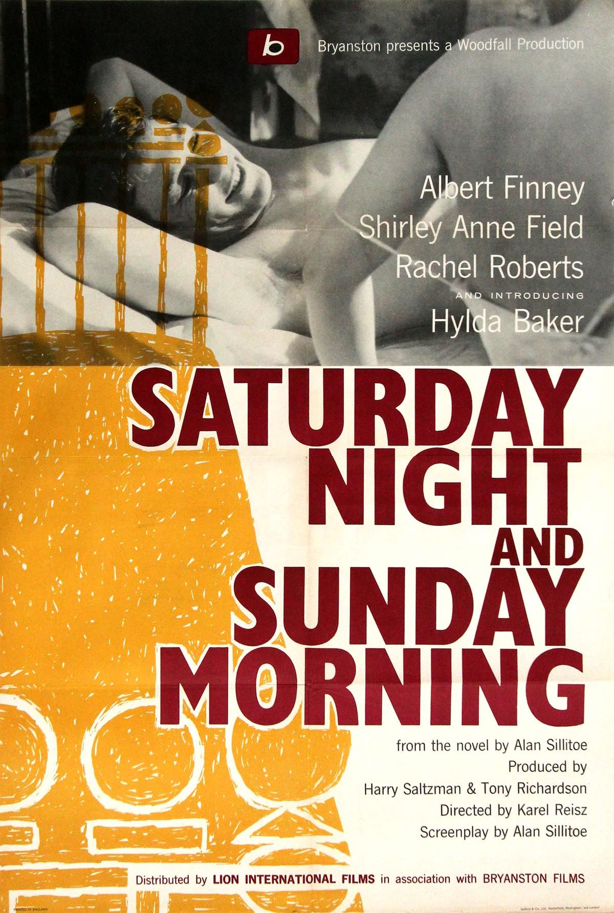 'Saturday Night and Sunday Morning' movie poster