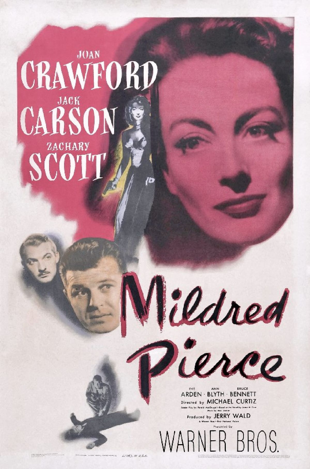 'Mildred Pierce' movie poster