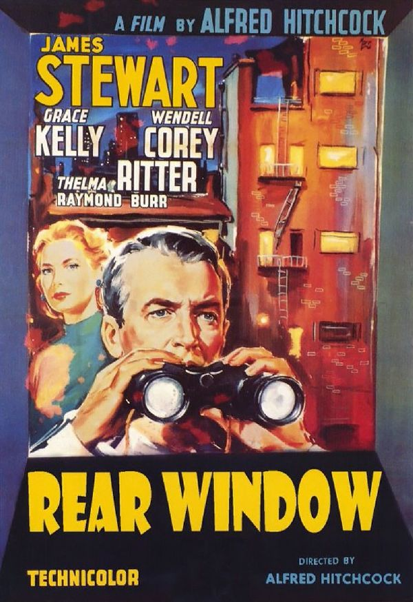 'Rear Window' movie poster