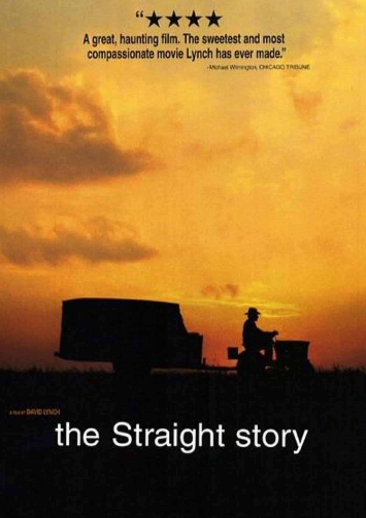 'The Straight Story' movie poster