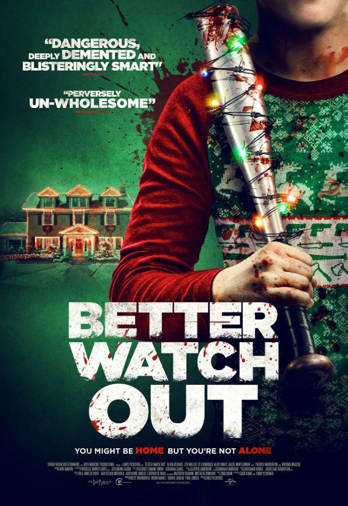 Poster for 'Better Watch Out'