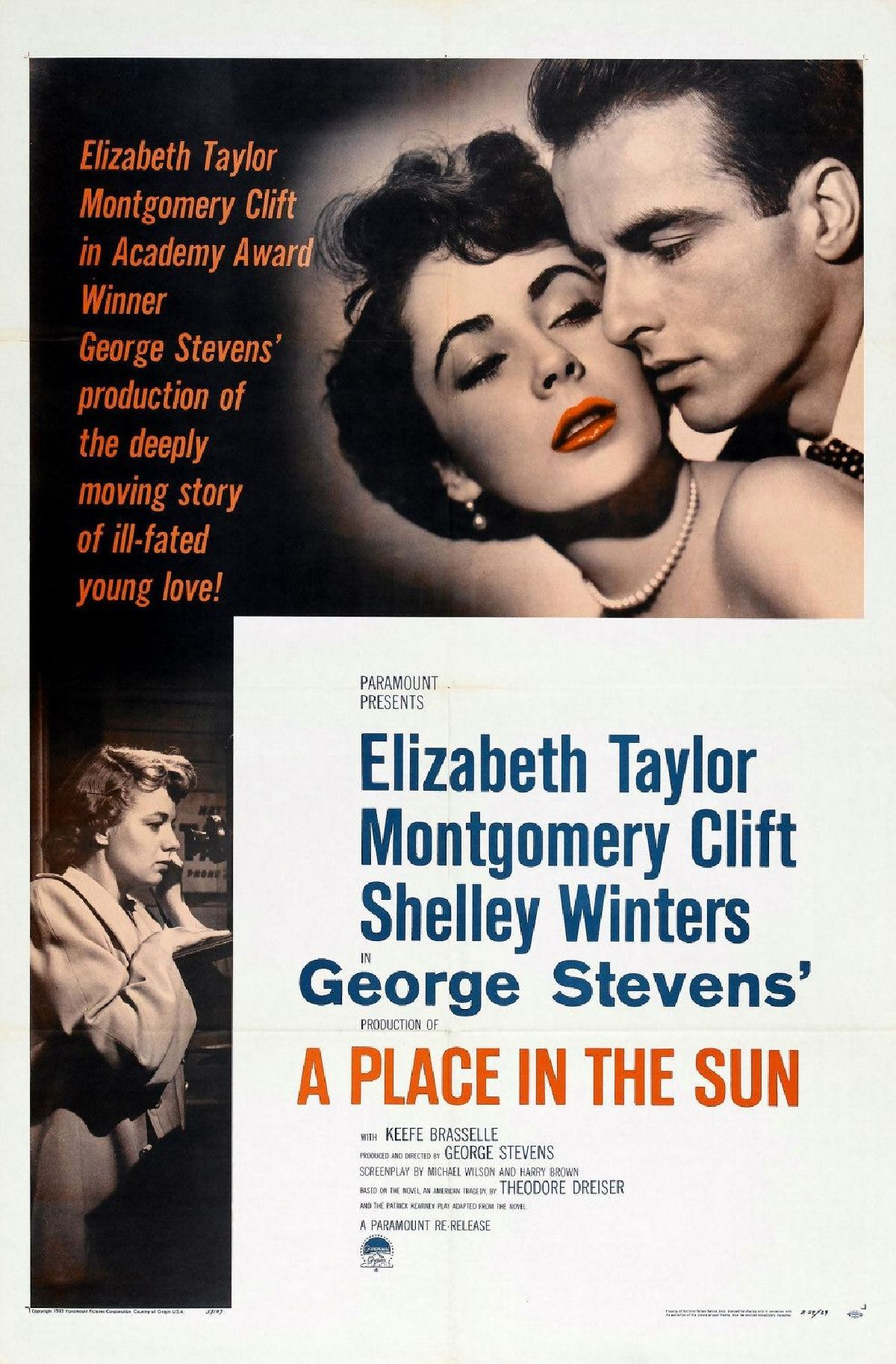 'A Place in the Sun' movie poster