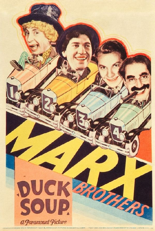 'Duck Soup' movie poster