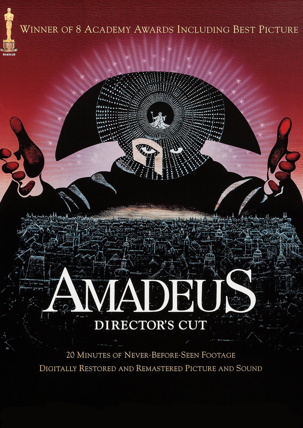 'Amadeus: The Director's Cut' movie poster