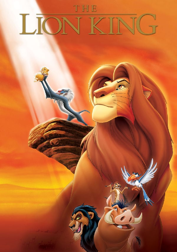 'The Lion King' movie poster