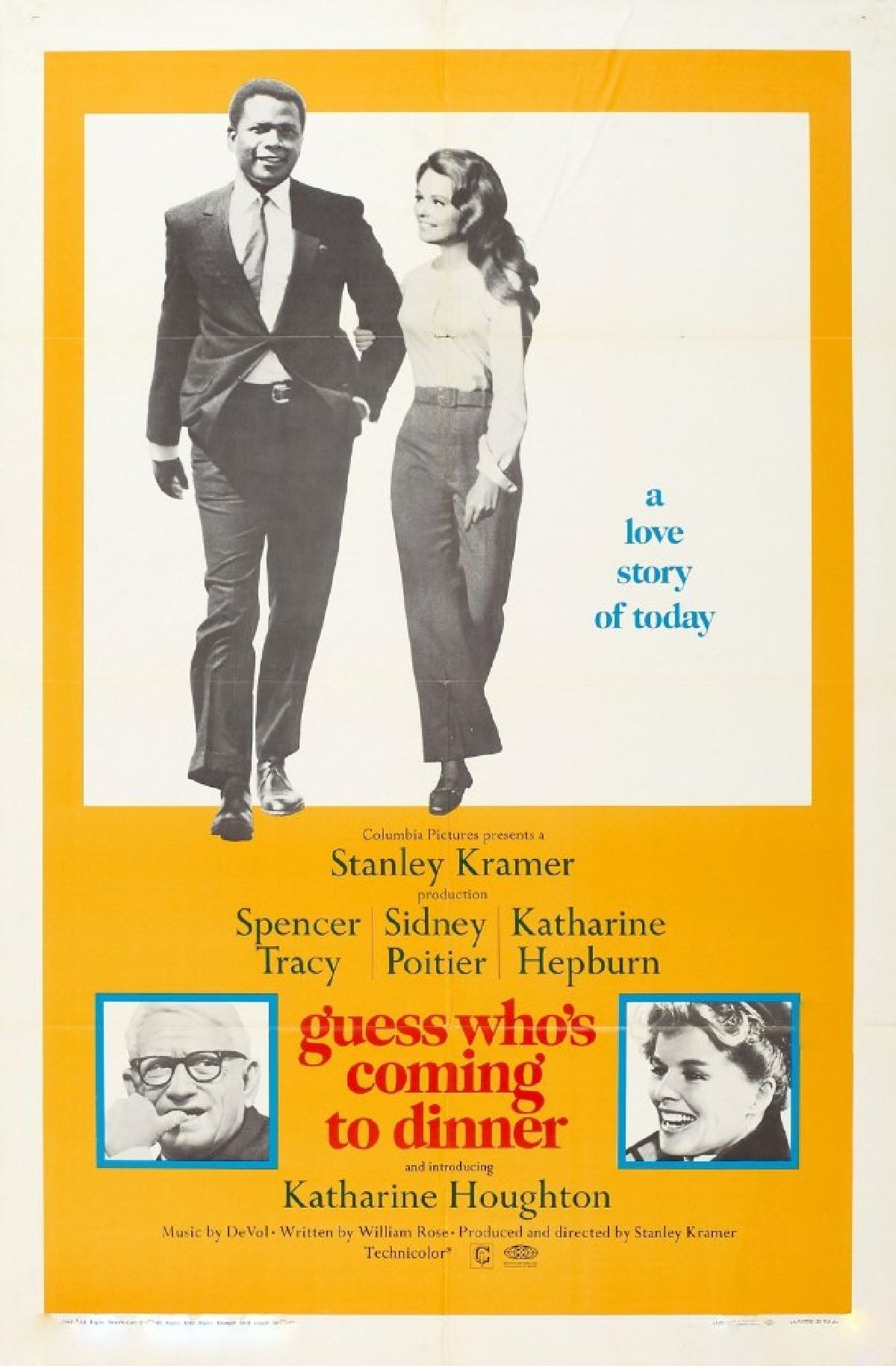 'Guess Who's Coming to Dinner' movie poster