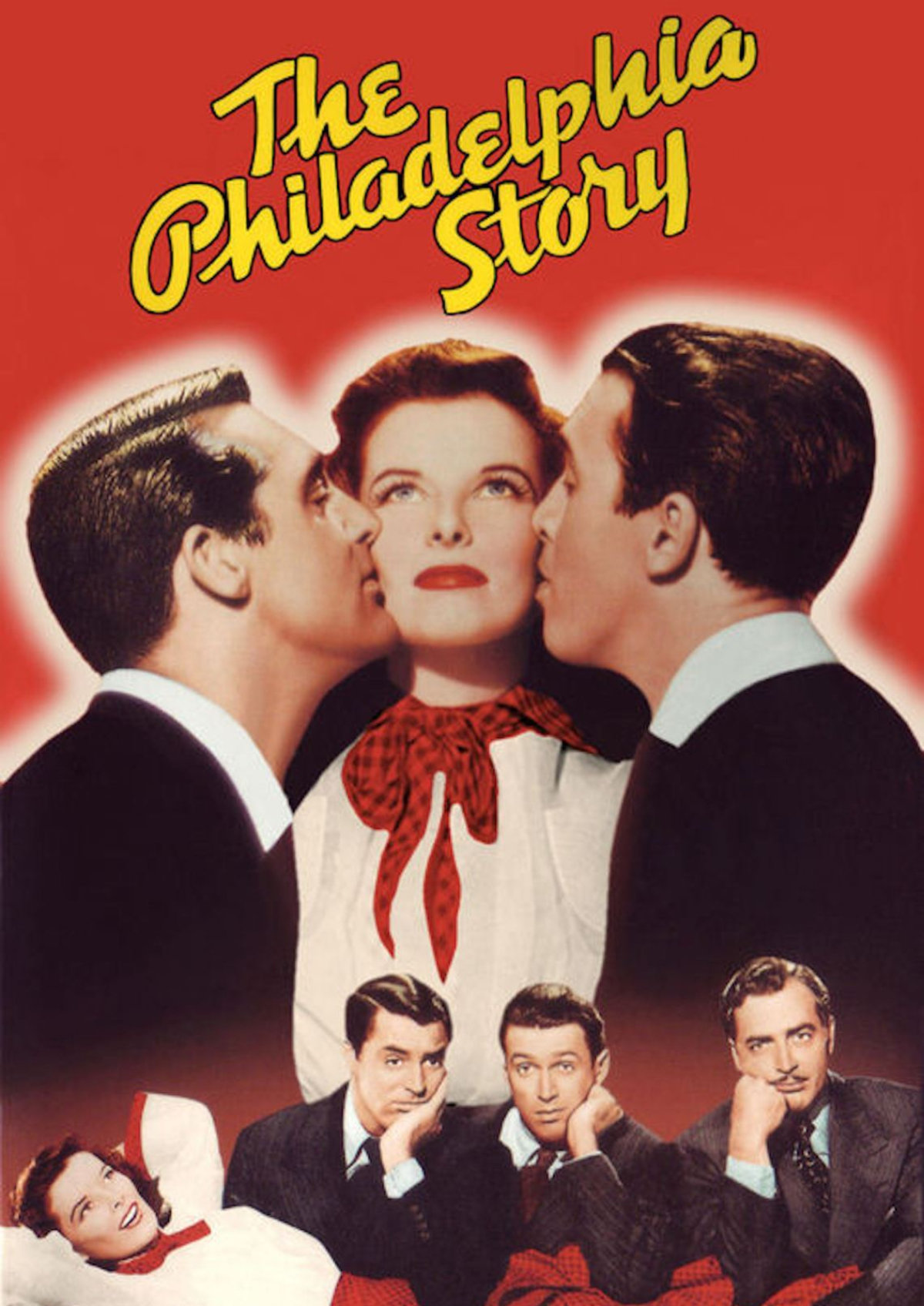 'The Philadelphia Story' movie poster