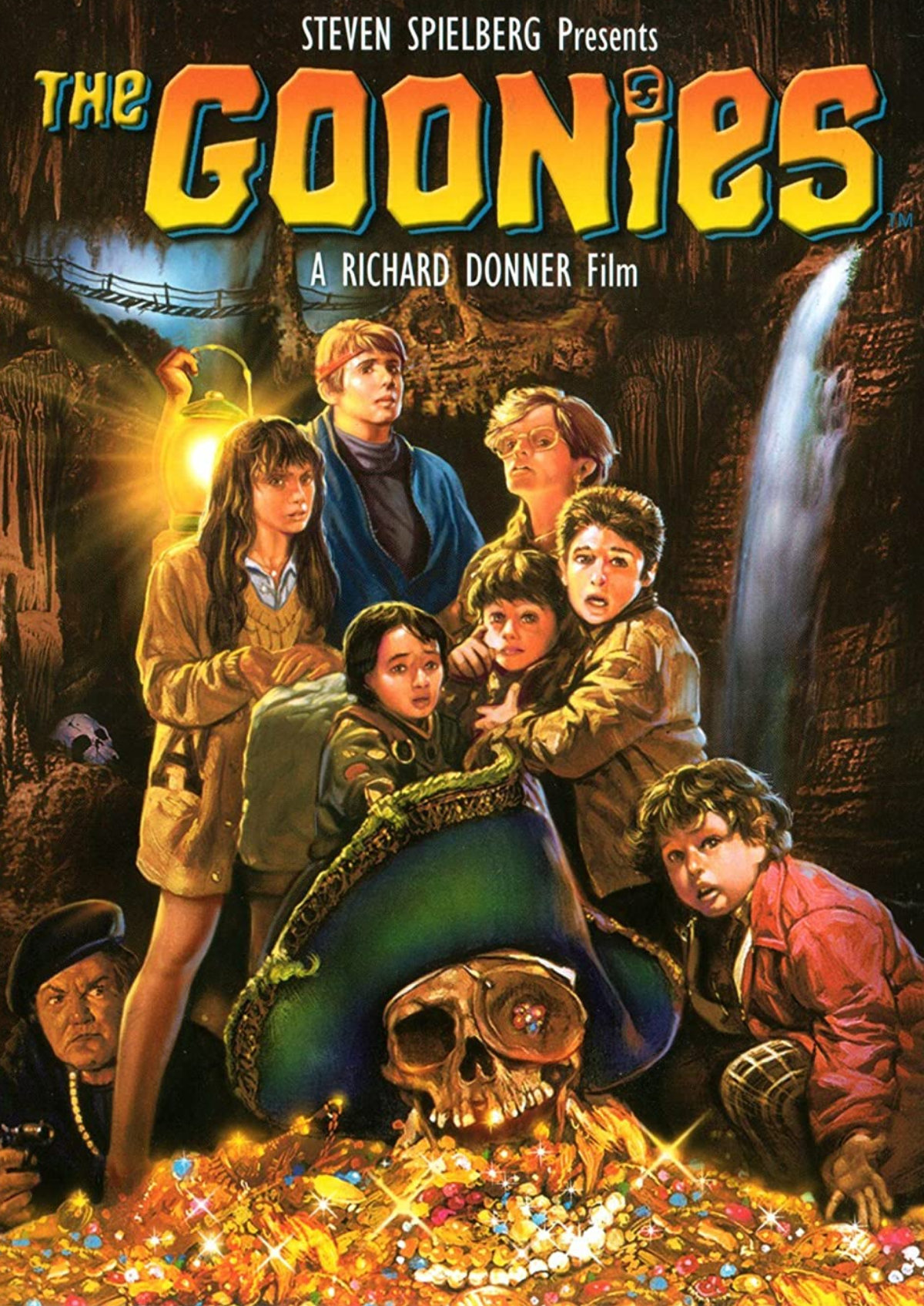 'The Goonies' movie poster