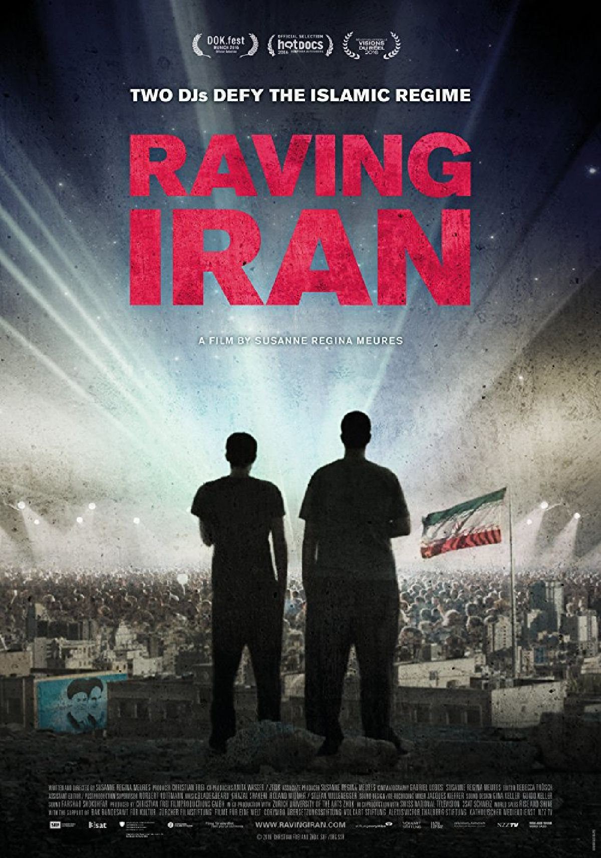 'Raving Iran' movie poster