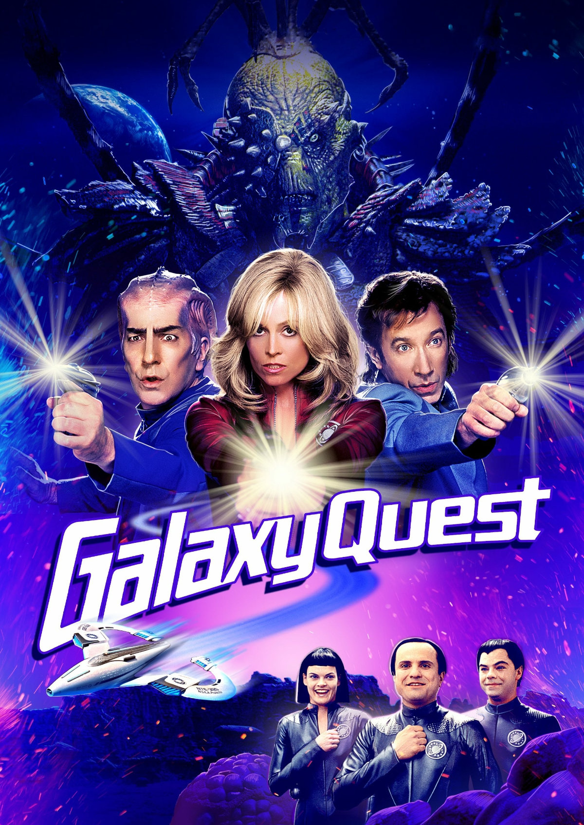'Galaxy Quest' movie poster