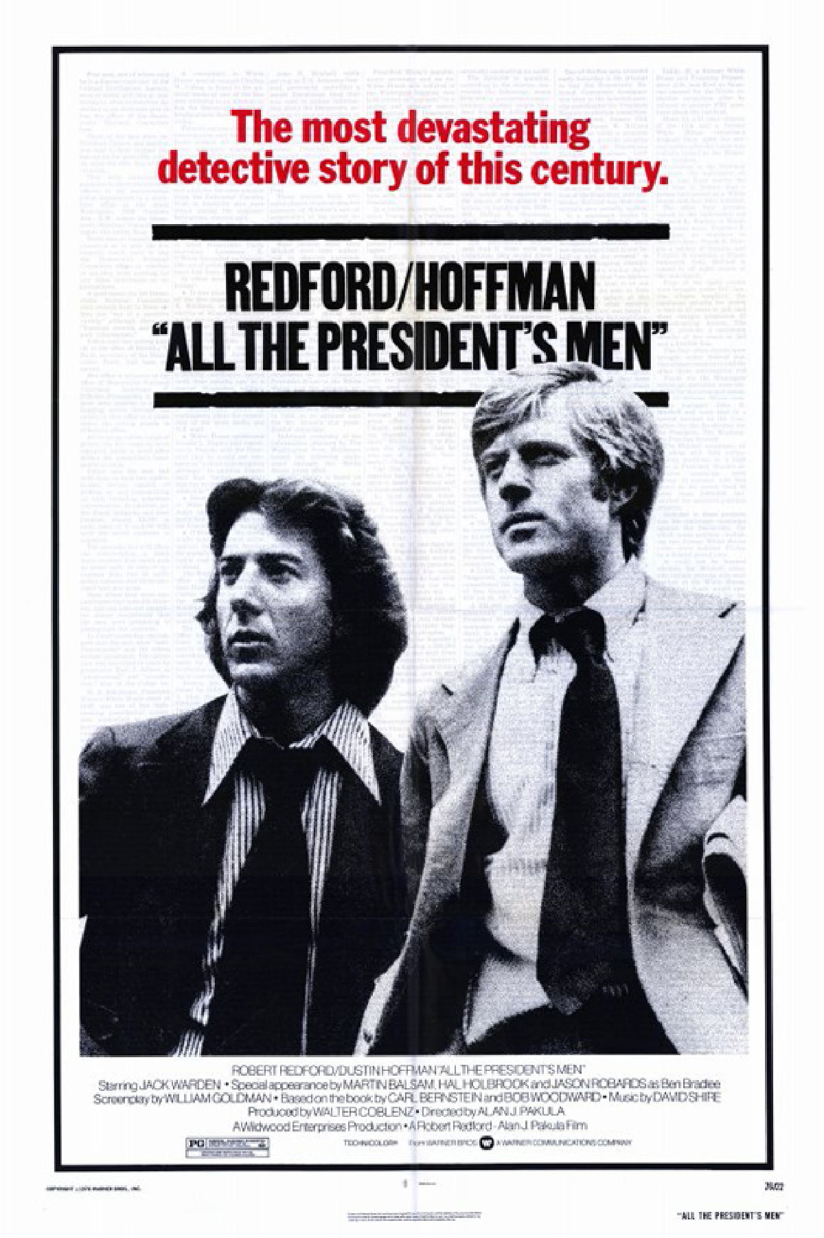 'All the President's Men' movie poster