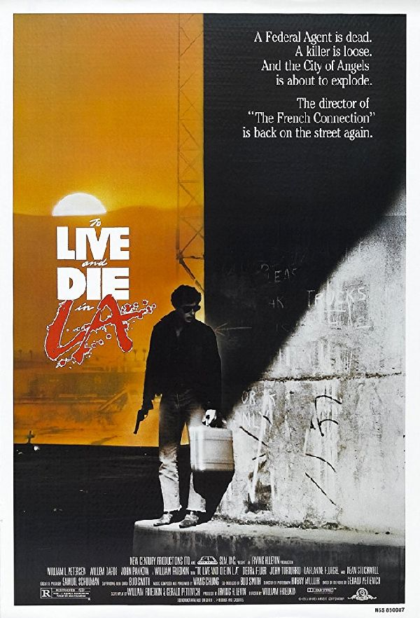 'To Live and Die in L.A.' movie poster