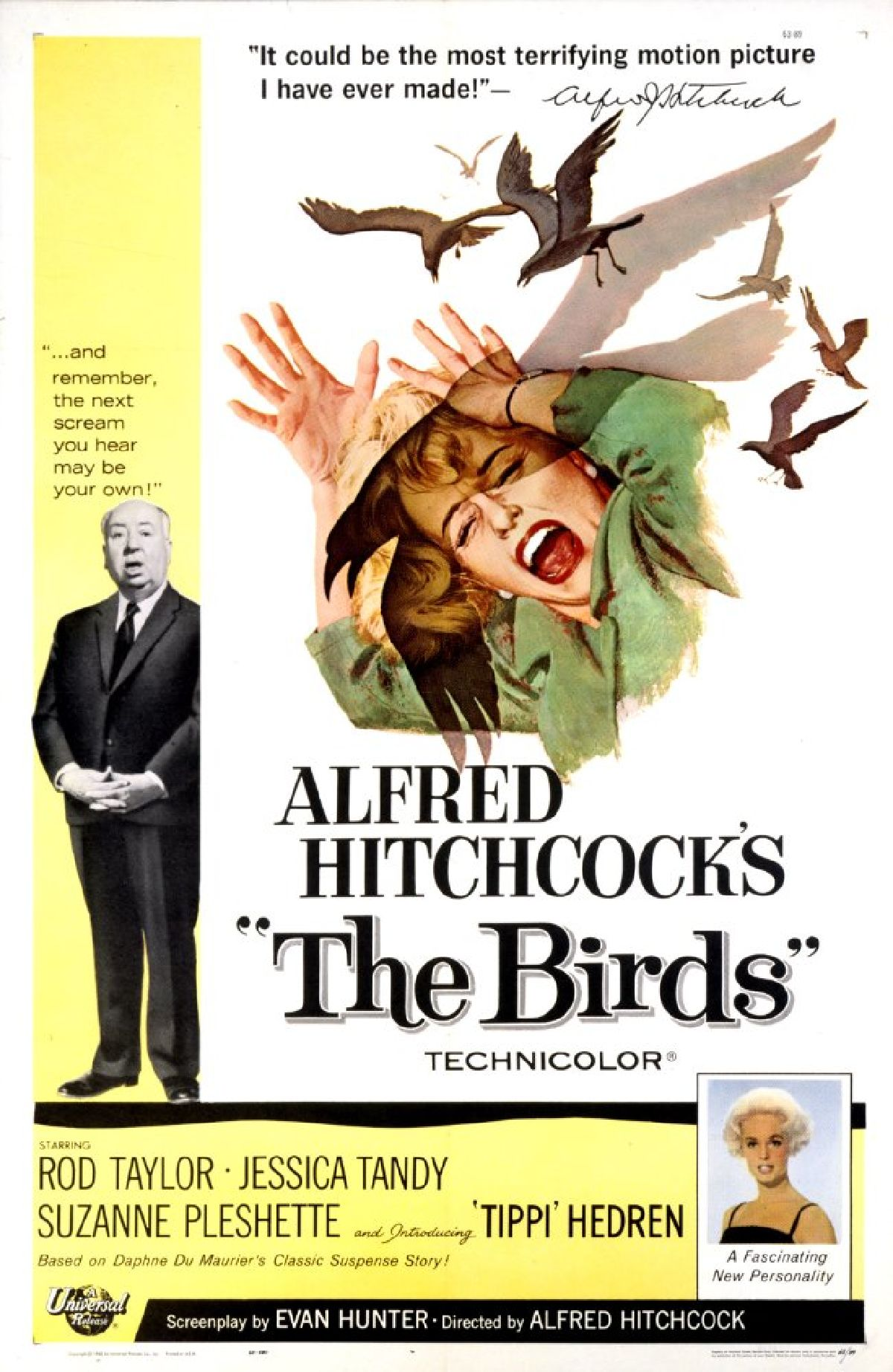 'The Birds' movie poster