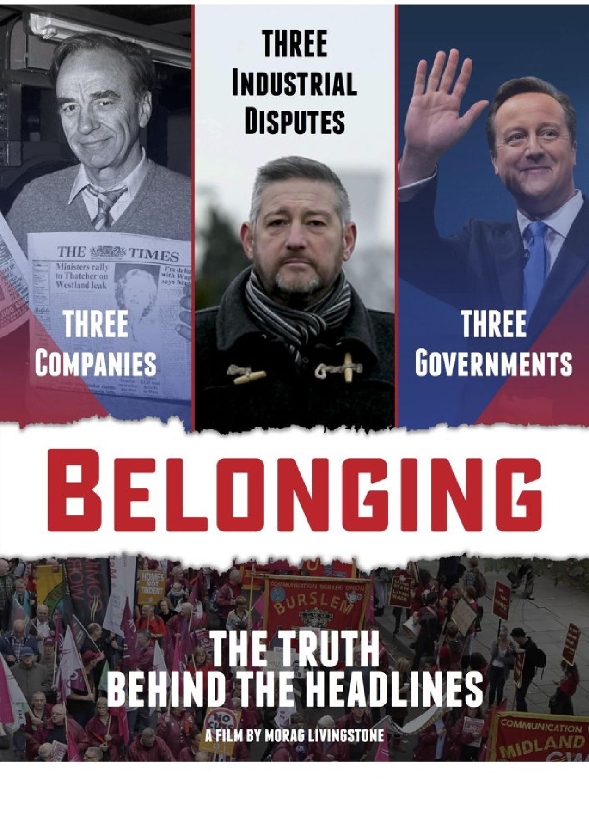 'Belonging: The Truth Behind the Headlines' movie poster