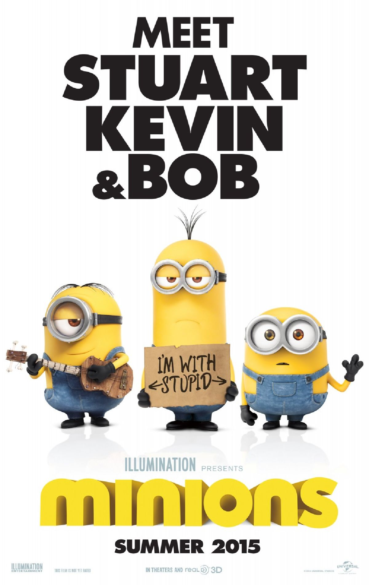 'Minions' movie poster