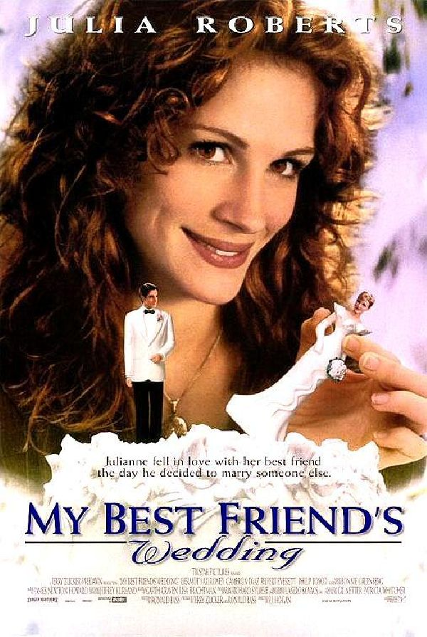 'My Best Friend's Wedding' movie poster