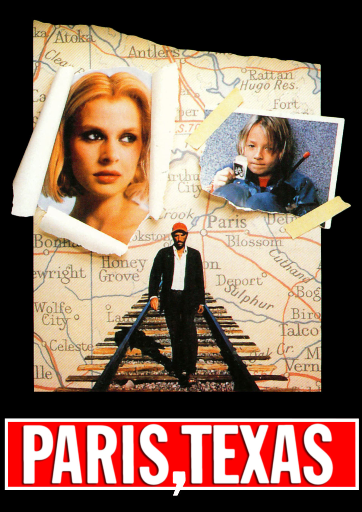 'Paris, Texas' movie poster