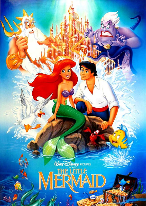 'The Little Mermaid' movie poster