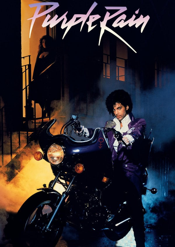 'Purple Rain' movie poster