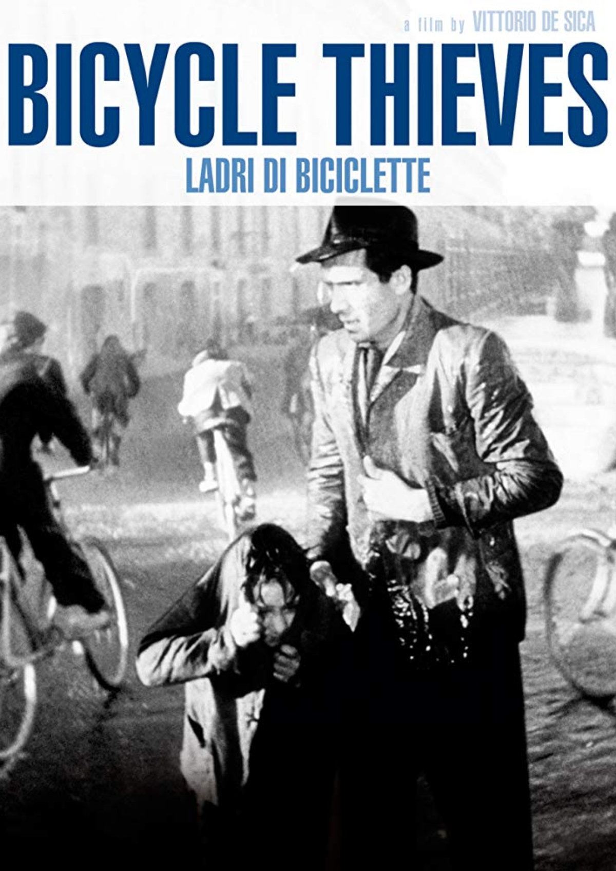 'Bicycle Thieves (Ladri di biciclette)' movie poster