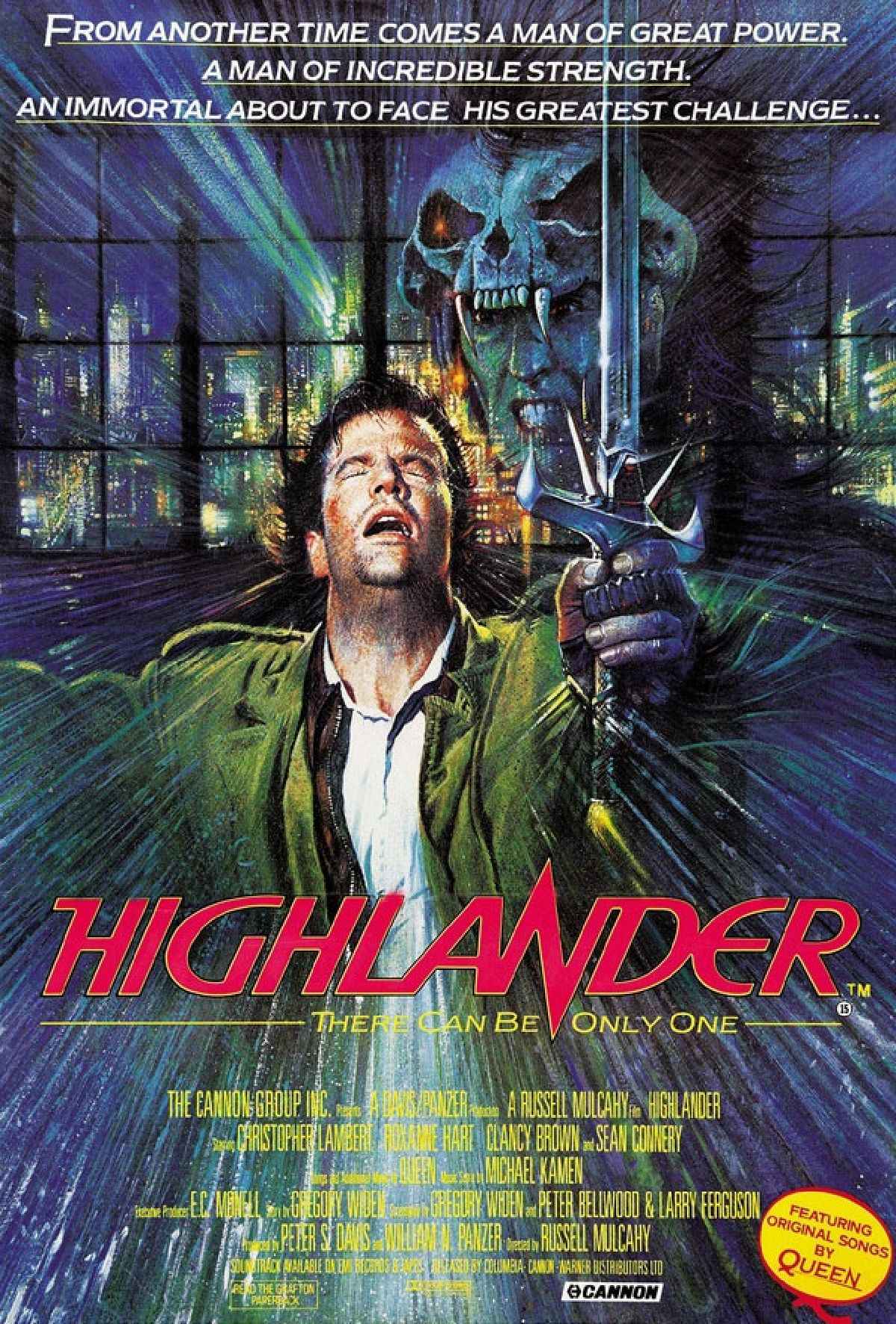 'Highlander' movie poster