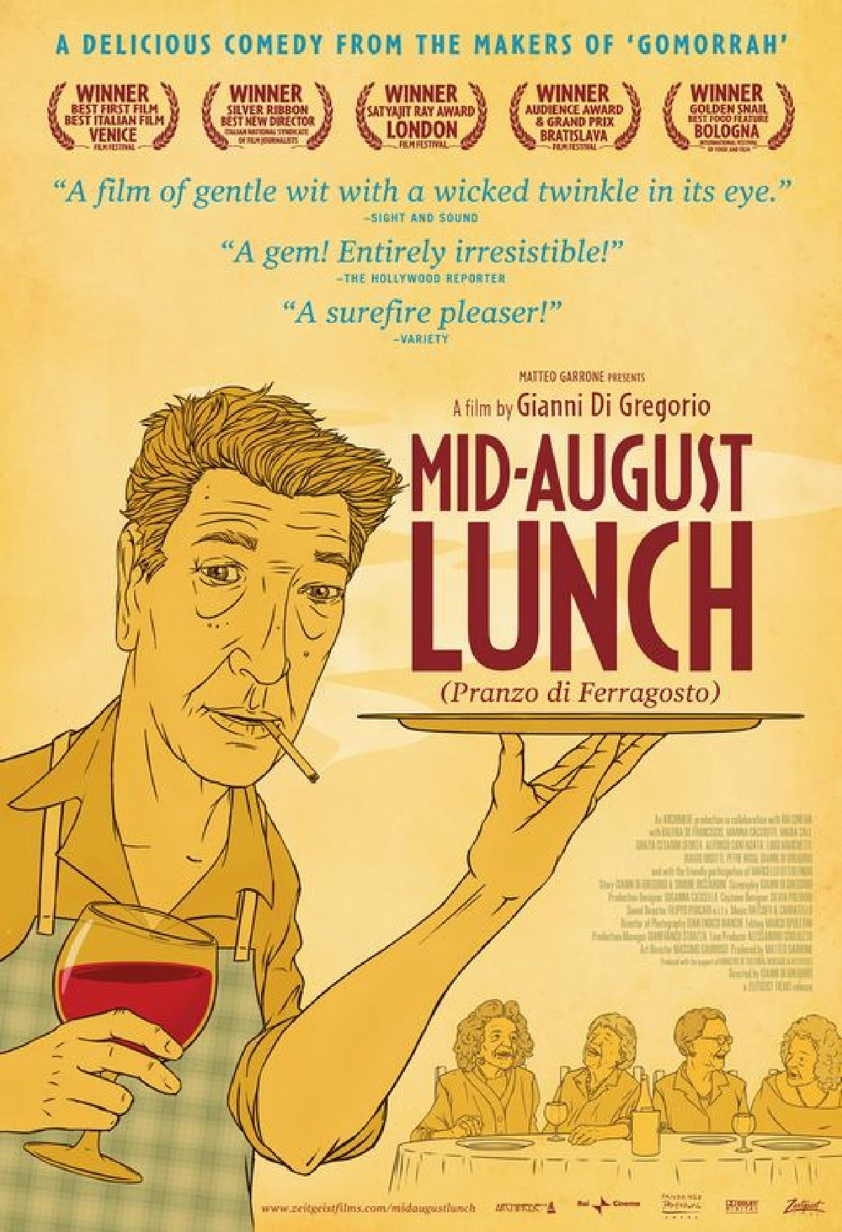 'Mid-August Lunch (Pranzo di Ferragosto)' movie poster
