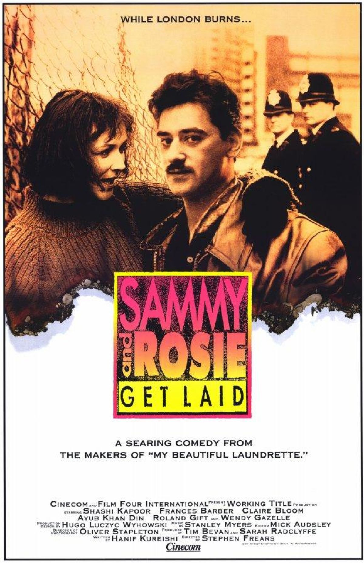 'Sammy and Rosie Get Laid' movie poster