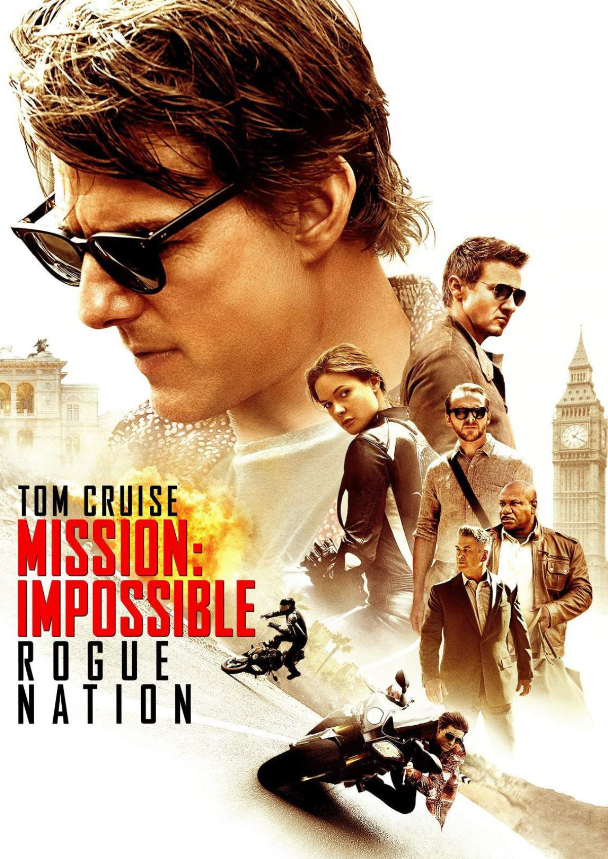 'Mission: Impossible - Rogue Nation' movie poster