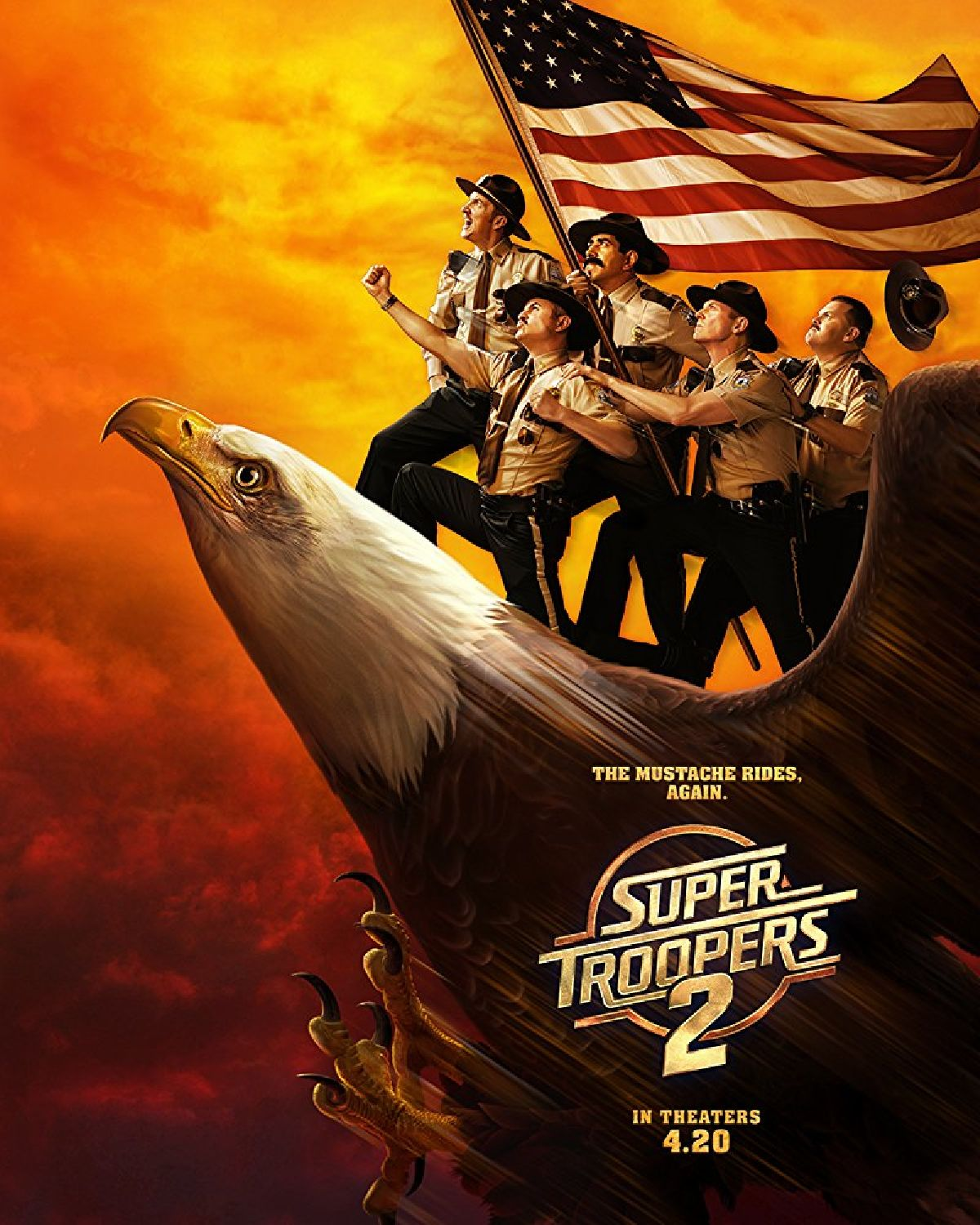 'Super Troopers 2' movie poster