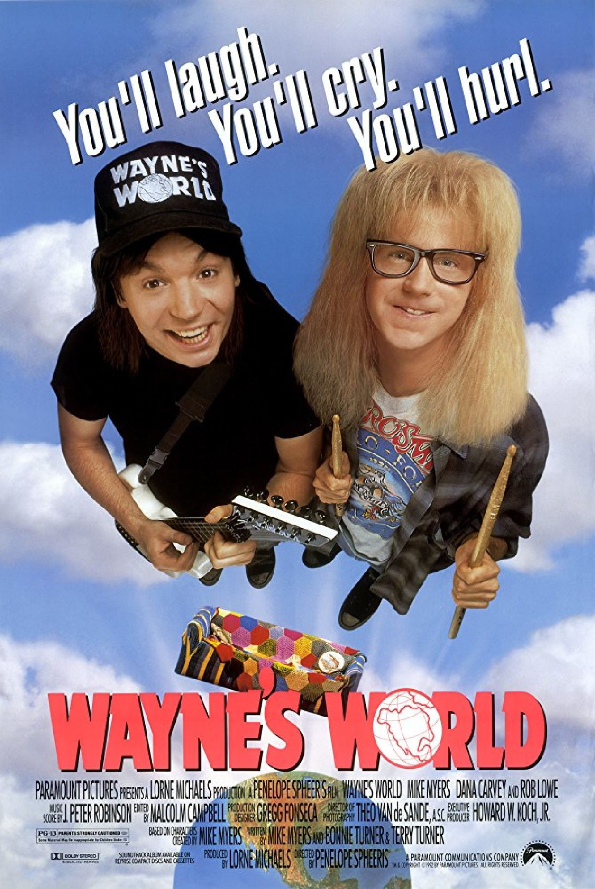 'Wayne's World' movie poster