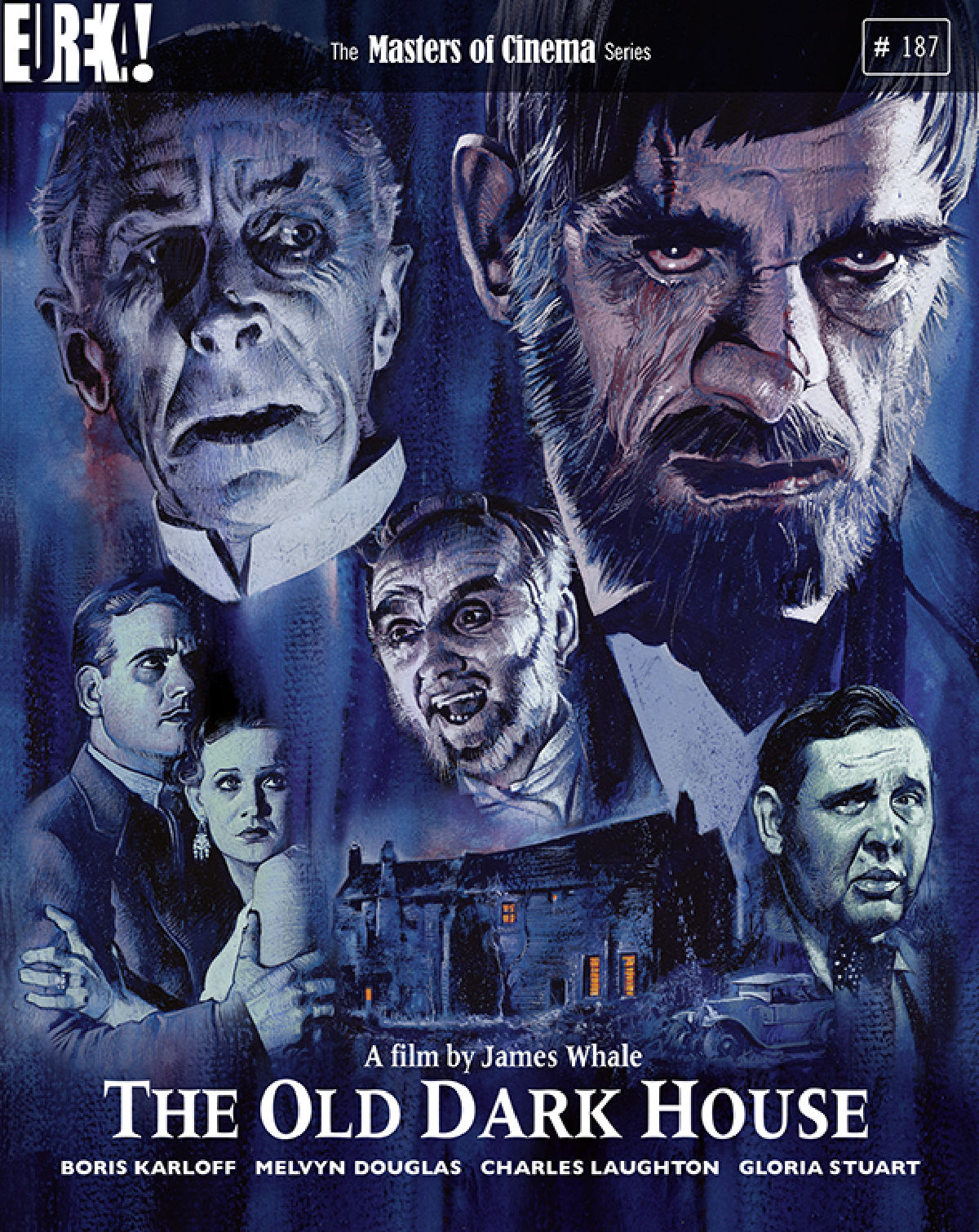 'The Old Dark House' movie poster