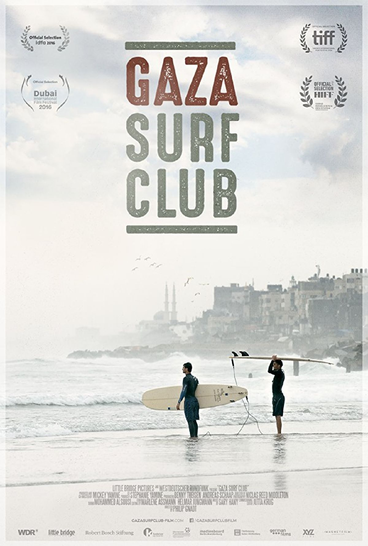 'Gaza Surf Club' movie poster