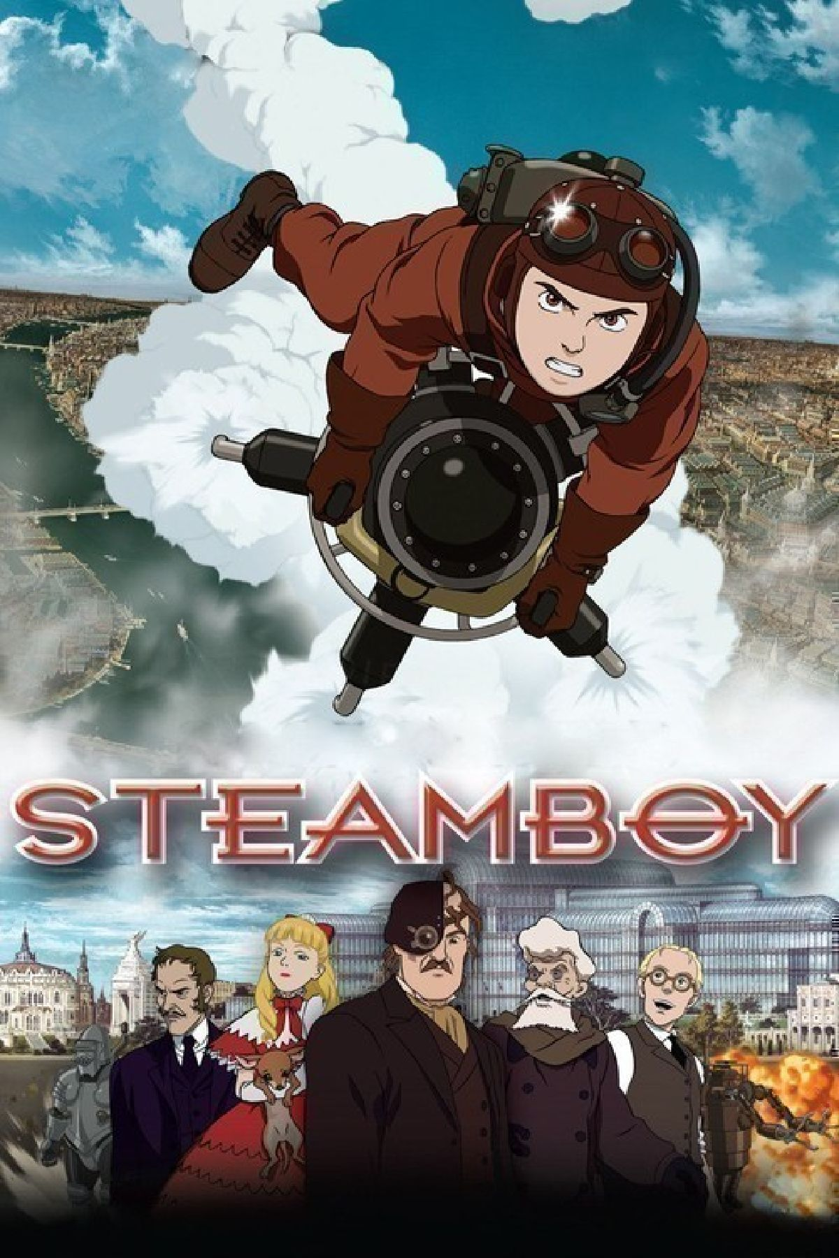 'Steamboy' movie poster