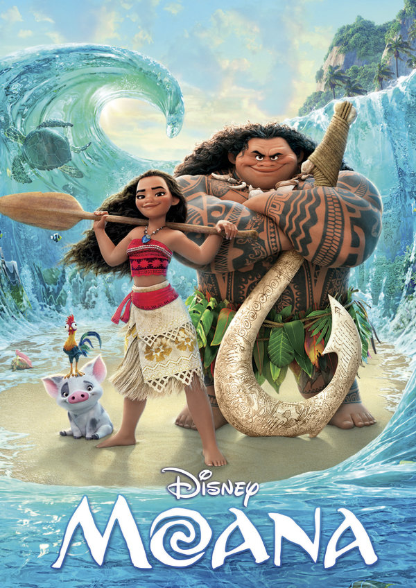 'Moana' movie poster