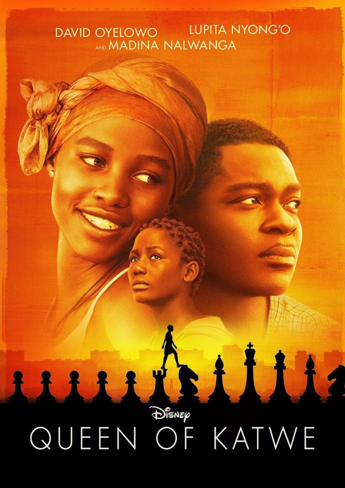 'Queen of Katwe' movie poster