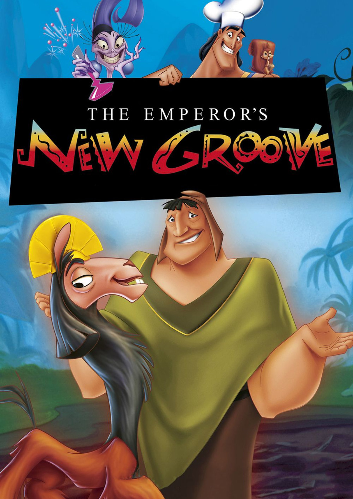 'The Emperor's New Groove' movie poster