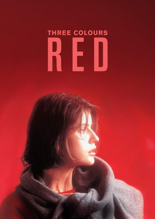 'Three Colours: Red' movie poster