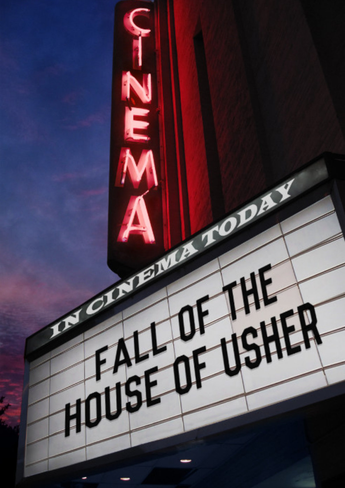 'The Fall Of The House Of Usher' movie poster