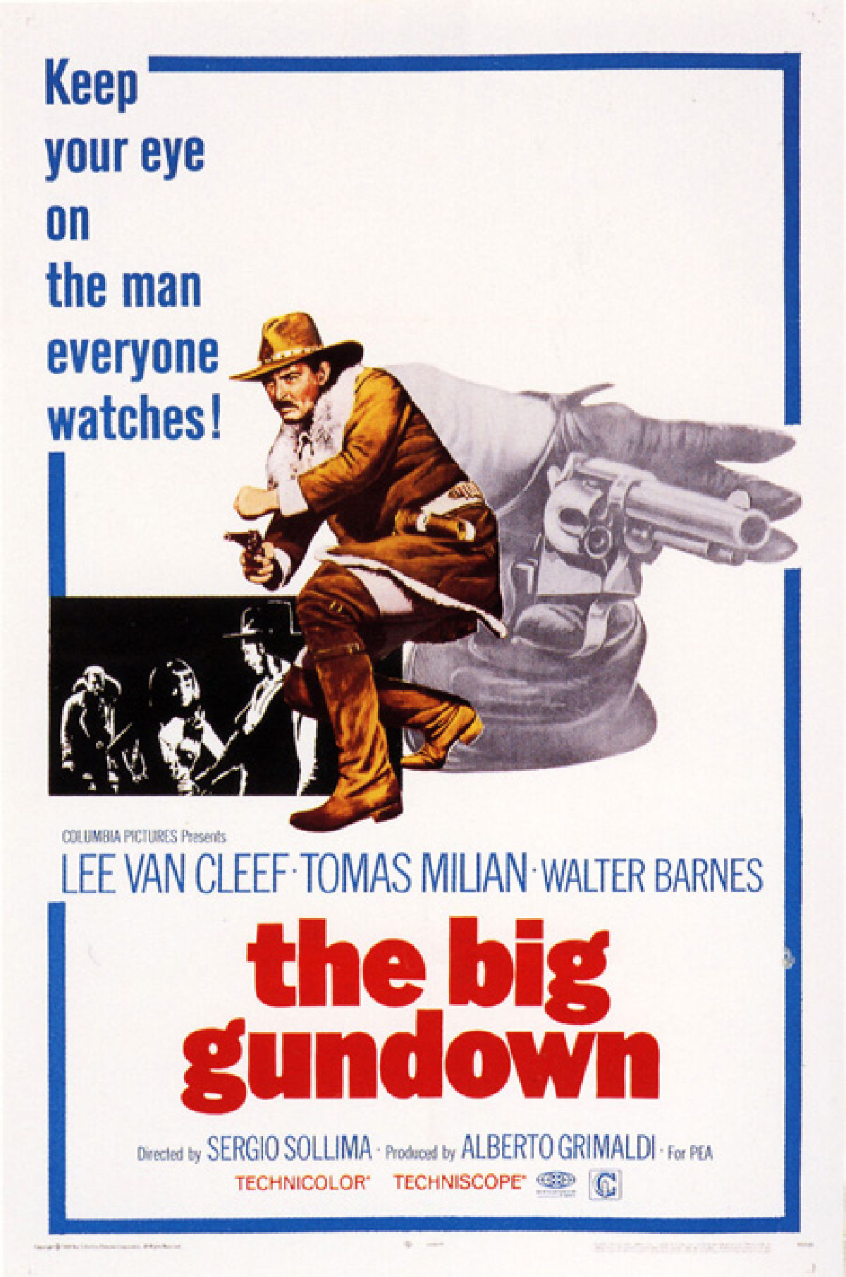 'The Big Gundown (La Resa Dei Conti)' movie poster