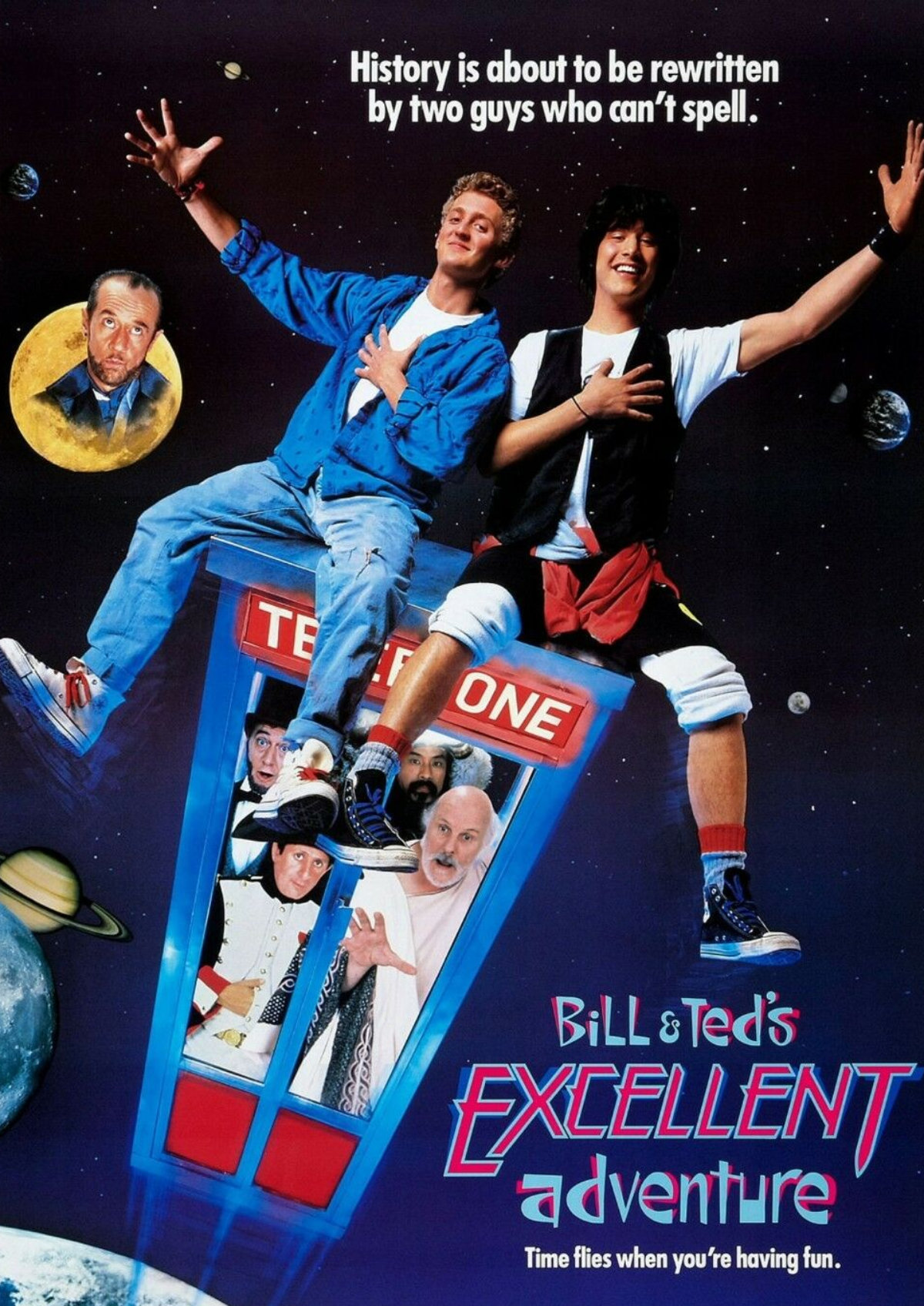 'Bill And Ted's Excellent Adventure' movie poster