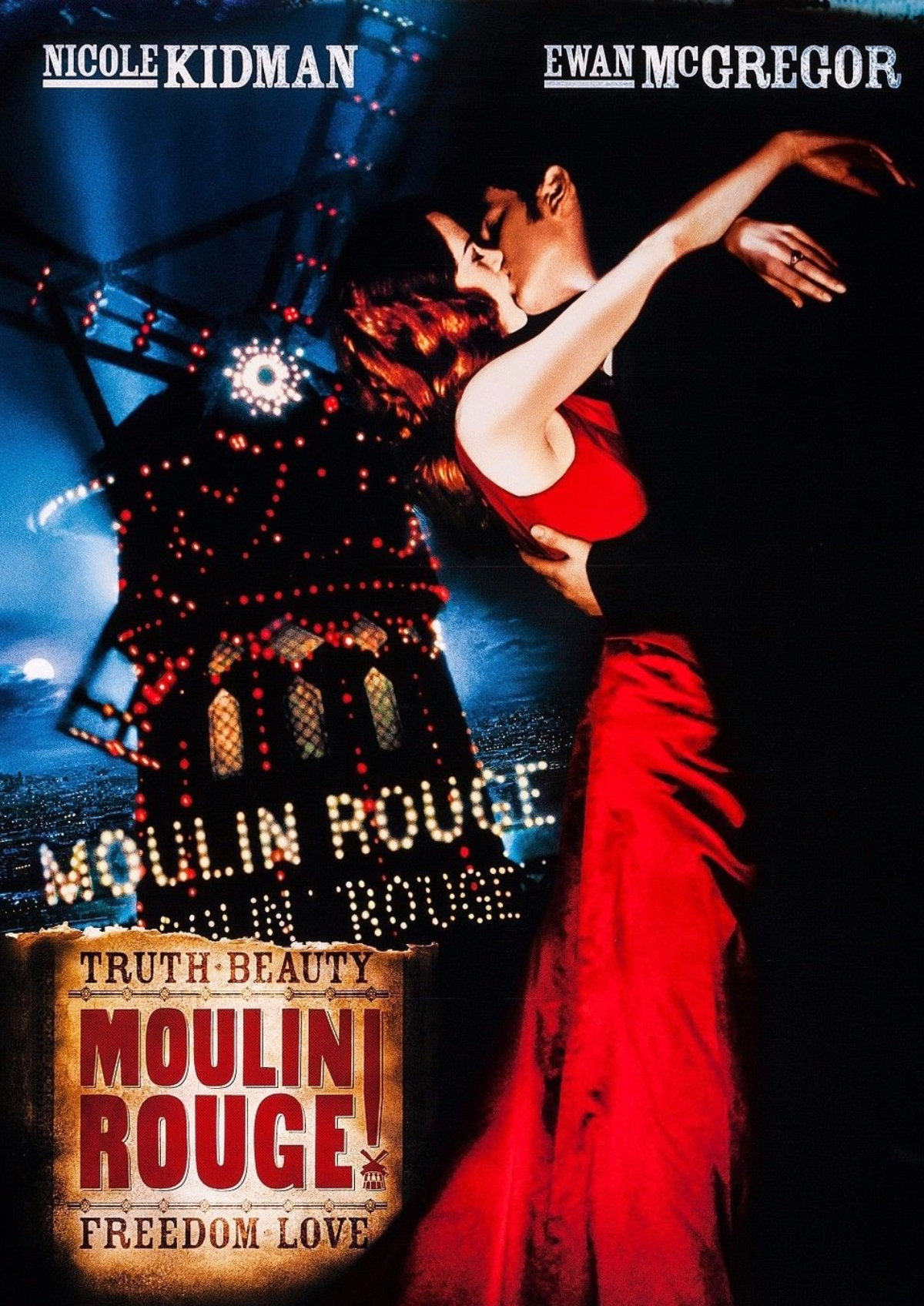 'Moulin Rouge' movie poster