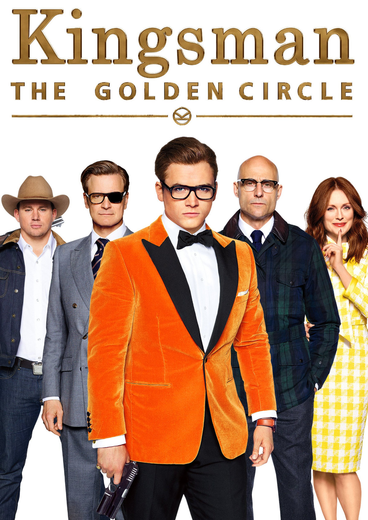 'Kingsman: The Golden Circle' movie poster