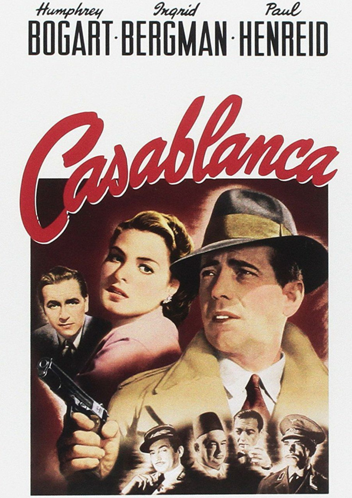 'Casablanca' movie poster