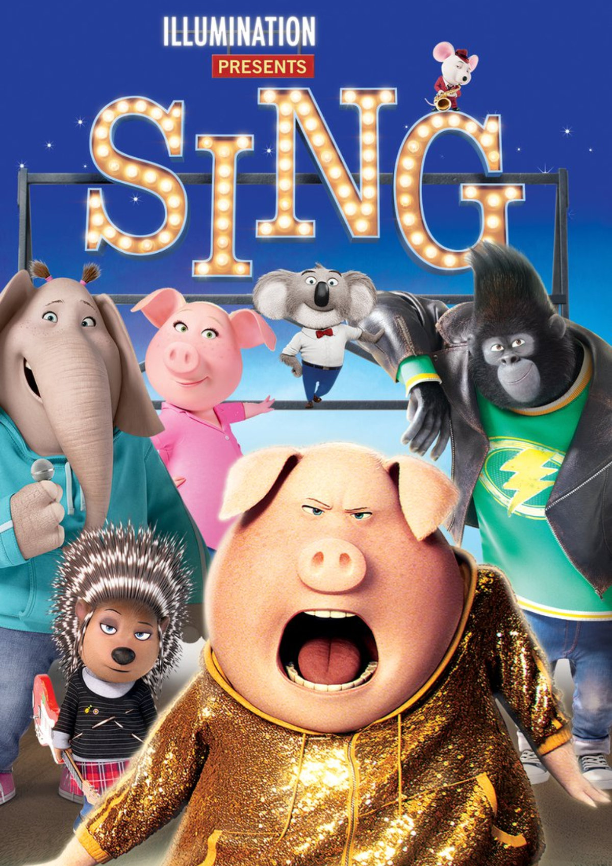 'Sing' movie poster