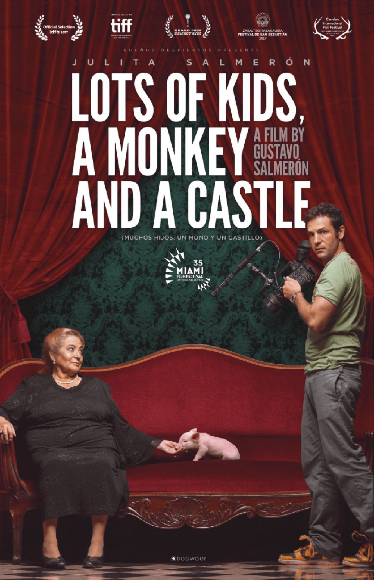 'Lots Of Kids, A Monkey And A Castle' movie poster