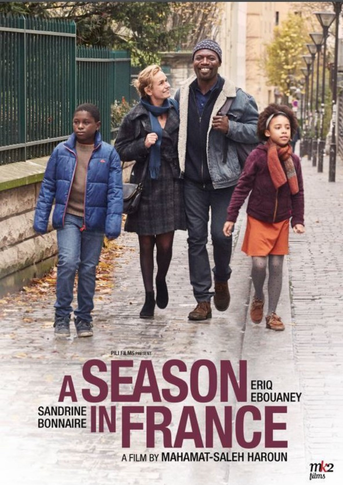 'A Season In France' movie poster